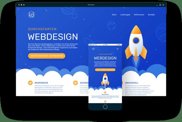 Floating Screen - Webdesign Bad Hersfeld
