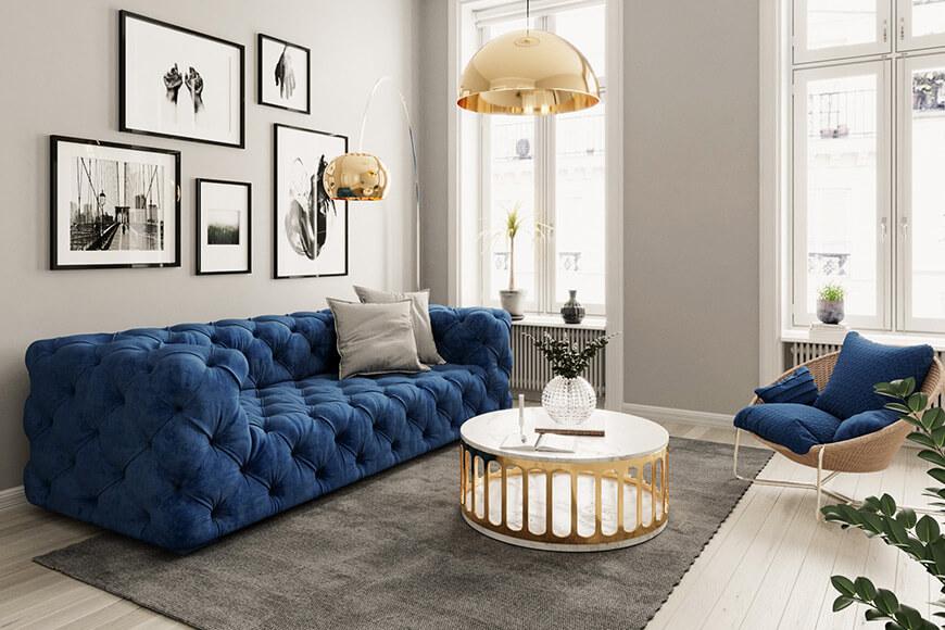 Wohnzimmer Stockholm