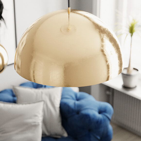 Wohnzimmer-Lampe Stockholm